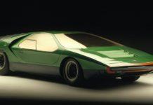 concept car Alfa Romeo Carabo 1968