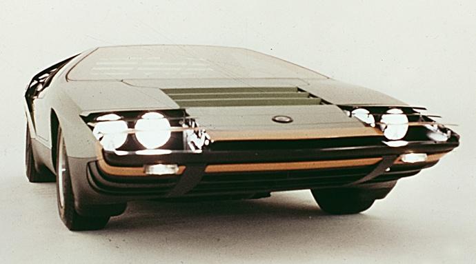 prototipo Bertone 1968 Alfa Carabo
