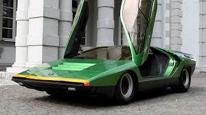 prototipo 1968 Alfa romeo carabo