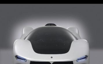 la concept Maserati Birdcage frontale