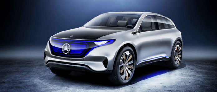 Mercedes Benz EQ salone