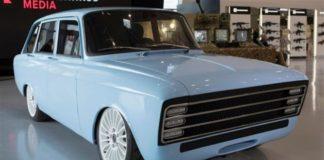auto elettrica supercar CV-1 la Kalashnikov