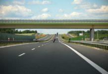 rottura vetro autostrada
